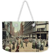 Boston: Washington Street Weekender Tote Bag