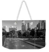 Boston's North End Fountains Weekender Tote Bag