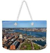 Boston's North End Weekender Tote Bag