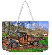 Boswell 1947 Dump Truck Farm Scene Weekender Tote Bag