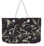 Botanical Blooms In Darkness Weekender Tote Bag