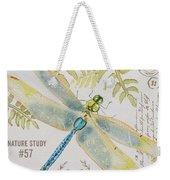 Botanical Dragonfly-jp3418b Weekender Tote Bag