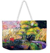 Botanical Garden In Lund Sweden Weekender Tote Bag
