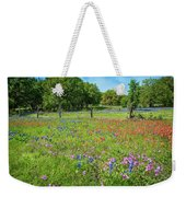 Botanical Variety Show In The Texas Hill Country Weekender Tote Bag