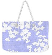 Botanicals Baby Blues Weekender Tote Bag