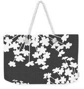 Botanicals Grey Weekender Tote Bag