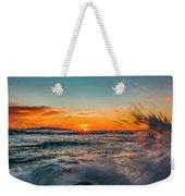 Botany Sunset Splash Weekender Tote Bag