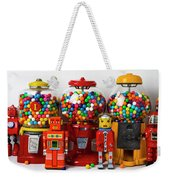 Bots And Bubblegum Machines Weekender Tote Bag