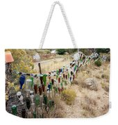 Bottle Fence. Weekender Tote Bag