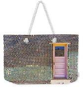 Bottle House Weekender Tote Bag