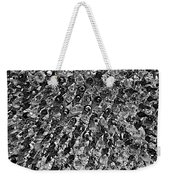 Bottle Wall Black And White Weekender Tote Bag