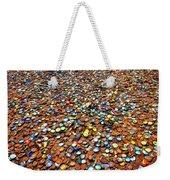 Bottlecap Alley Weekender Tote Bag