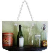 Bottles And A Coffee Can Weekender Tote Bag