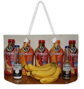 Bottles N Bananas Weekender Tote Bag