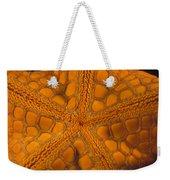 Bottom Of Orange Sea Star Or Starfish Weekender Tote Bag