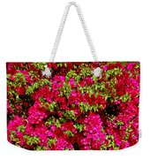 Bougainvillea And Foliage Weekender Tote Bag
