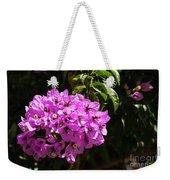 Bougainvillea Bloom Weekender Tote Bag