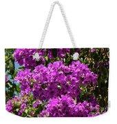 Bougainvillea Blooms Weekender Tote Bag