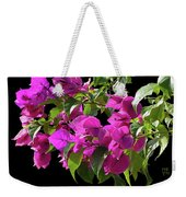 Bougainvillea Cutout Weekender Tote Bag