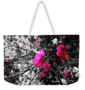 Bougainvillea Invasion Weekender Tote Bag