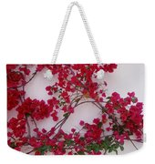 Bougainvillea Of Cascais, Portugal Weekender Tote Bag