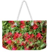 Bougainvillea Repeating Pattern Abstract I Weekender Tote Bag
