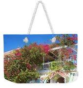 Bougainvillea Villa Weekender Tote Bag