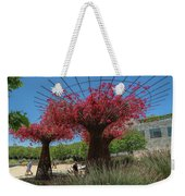 Bougainvilleas Tree Scultures Weekender Tote Bag
