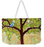 Boughs In Leaf Tree Weekender Tote Bag by Blenda Studio