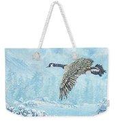 Boulder Bay Geese Weekender Tote Bag
