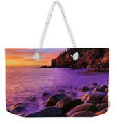 Boulder Beach Sunrise Weekender Tote Bag