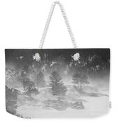 Boulder Canyon And Nederland Winter Landscape Weekender Tote Bag