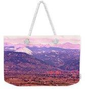 Boulder Colorado Sunrise Panorama Weekender Tote Bag