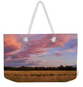Boulder County Colorado Country Sunset Weekender Tote Bag