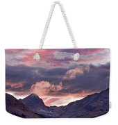 Boulder County Colorado Indian Peaks At Sunset Weekender Tote Bag by James BO  Insogna