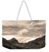 Boulder County Indian Peaks Sepia Image Weekender Tote Bag by James BO  Insogna