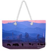 Boulder County Industry Meets Country Weekender Tote Bag