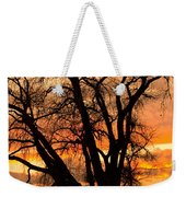 Boulder  County Sunset Weekender Tote Bag