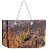 Boulder County Wildfire 5 Miles West Of Downtown Boulder Weekender Tote Bag