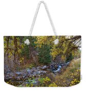 Boulder Creek Autumn View  Weekender Tote Bag