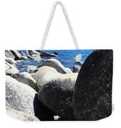 Boulders On Lake Tahoe Weekender Tote Bag