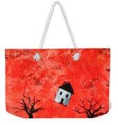 Bouncing House Fiery Sky Weekender Tote Bag