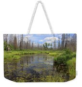 Boundary Waters Beauty Weekender Tote Bag