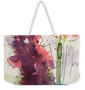 Bouquet Abstract 1 Weekender Tote Bag