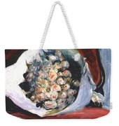 Bouquet In A Theater Box Weekender Tote Bag