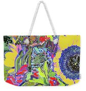 Bouquet In Yellow And Red Weekender Tote Bag