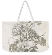 Bouquet Of Different Flowers, Jacques Bailly I, Ca. 1670 , Weekender Tote Bag