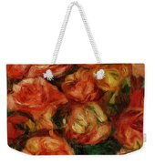 Bouquet Of Flowers 1915 Weekender Tote Bag
