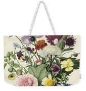 Bouquet Of Flowers, Anonymous, 1680 Weekender Tote Bag