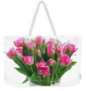Vase Of Tulips Weekender Tote Bag
